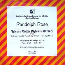 "7"" COVERVERSION DR. HOOK RANDOLPH ROSE Sylvia´s Mutter"