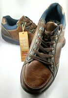 Rivers AERO LITE Smart Casual Brown shoes Size 10 EXCELLENT Condition
