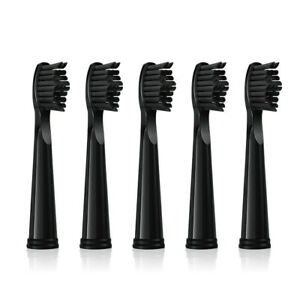 5 PCS Bamboo Charcoal Electric Toothbrush Heads for Fairywill FW-507 FW-508