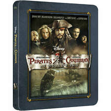 Pirates of the Caribbean: At World's End Limited Edition Bluray Steelbook Sealed