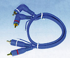 Cable RCA Con Inclinado Stecker + remotel. 0,5m - 1 Set