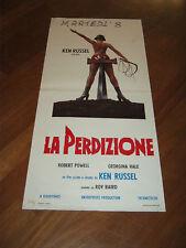 LOCANDINA,1974,La perdizione (Mahler),Ken Russell,Robert Powell