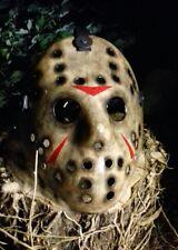 😈FRIDAY 13TH THE FVJ JASON VORHEES HOCKEY MASK,HALLOWEEN,JAYSTEAD79 DVD,PROP😈