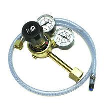 CO2 Mig, Beer Dispening Gas Regulator With 4.0mm Tube Adaptor