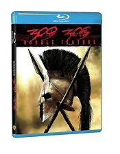 300 / 300 RISE OF AN EMPIRE  GERARD BUTLER  HI-DEF BLU RAY NEW & SEALED! 2 DISCS