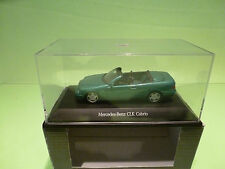 SCHUCO  1:43 MERCEDES BENZ CLK CABRIO  - GOOD CONDITION IN BOX - DEALER EDITION.
