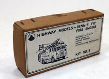 vintage Highway Models Dennis F12 Fire Engine White Metal  Kit 4mm 1/76 OO