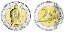 MONACO 2 EURO KURSMÜNZE ALBERT II. 2018 bankfrisch