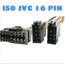 CABLE ISO ADAPTATEUR AUTORADIO JVC 16 PIN KD-MX3000R KD-LX3R ENVOI FRANCE
