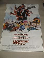JAMES BOND 007 - OCTOPUSSY - A0 XXL Filmplakat Poster ROGER MOORE GEFALTET