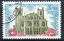 STAMP / TIMBRE FRANCE OBLITERE N° 1713  NARBONNE CATHEDRALE SAINT JUST