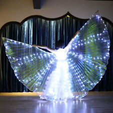LED Dress Belly Dance LED Isis Wings Egyptian Club Light Up Show LED Wings