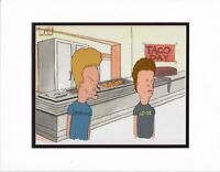 Beavis and Butthead Production Animation Cel MTV 1993-1997 with COA and Seal bm