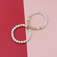 Fashion Luxury Micro Pave CZ Ball Crown Women Men Bracelets Charm Jewelry Gift