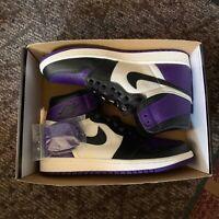 Jordan 1 Court Purple OG Size 9.5