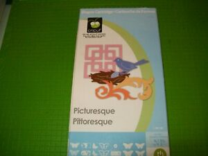 PICTURESQUE CRICUT SHAPES CARTRIDGE - IN ORIGINAL BOX WITH INSTRUCTION BOOKLET