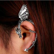 Gothic Rock Punk Twine Dragon Shape Ear Cuff Earring Earrings from the UK