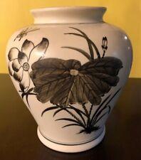 "SPI Ceramic Handmade San Pacific Intl. San Francisco Vase Planter Garden 8.5"""