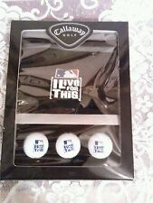 "Callaway Golf ""I Live For This"" Major League Baseball 2006 Boxed Set NIB"