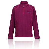 Regatta Womens Kenger Half Zip Fleece Top - Pink Purple Sports Outdoors