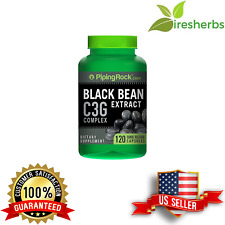 BLACK BEAN EXTRACT COMPLEX C3G DIGESTION EYE HEALTH DIETARY SUPPLEMENT 120 CAPS