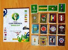 Copa America Brasil 2019 Panini Set Complete Stickers + Album HARD COVER