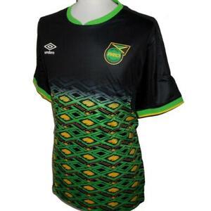JAMAICA Umbro Away Football Shirt 2018-2020 NEW Men's Reggae Boyz Soccer Jersey