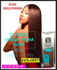 "ZURY HOLLYWOOD 100% Human Hair CLASSIC VIRGIN PERM REMY - 10"" 12"" 14"" 16"" 18"""