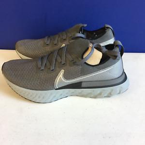 Nike Mens React Infinity Run CD4371-015 Iron Grey Metallic Silver Running Shoe 9