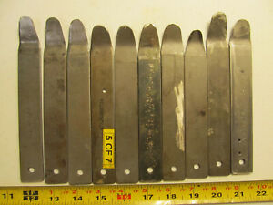 Aircraft tools 10 PTI Tools skin spoons