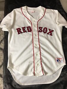 BNWOT ROGER CLEMENS BOSTON RED SOX ORIGINAL AUTHENTIC RAWLINGS HOME JERSEY 44