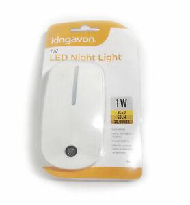 Kingavon LED Night Light W1 Automatic With 8 Led light F&F