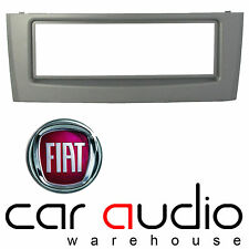 Autoleads FP-01-07 Fiat Grande Punto 05> Car Stereo Single Din Fascia Panel Grey
