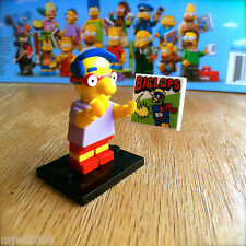 LEGO 71005 THE SIMPSONS Minifigures MILHOUSE #9 SEALED Minifigs Series 1 VANHout