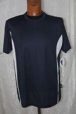 PEN DUICK - tee shirt Sport Tee homme   ML PK 100 bleu et blanc taille L neuf