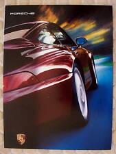 PORSCHE OFFICIAL 911 993 CARRERA C2 C4 TURBO PRESTIGE BROCHURE 1995-1996 USA Ed
