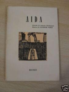 AIDA RICORDI 1981