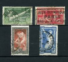 TIMBRES N° 183-186 OBLITERES