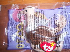 MCDONALDS TY 1999 STRETCHY the OSTRICH #10 TEENIE BEANIE BABY Babies NIP