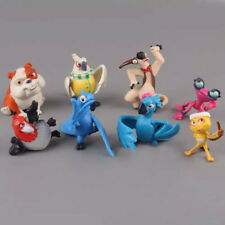 8PCS CUTE ANIMALS ACTION FIGURES DOLL CAKE TOPPER DECOR KIDS CHILDS PLAYSET TOY