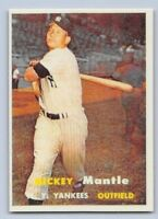 "1957  MICKEY MANTLE - Topps -""REPRINT"" Baseball Card # 95 - NEW YORK YANKEES"