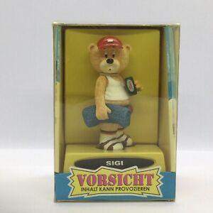💛 'BAD TASTE BEARS' 'SIGI' GERMAN COLLECTABLE BEAR FIGURINE BOXED!