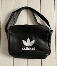 NEW ADIDAS Black Retro Style Shoulder/Crossbody Bag