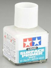 Tamiya Liquid Surface Primer White 40ml Bottle 87096