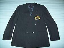"Baumler Ricardo Black Pinstripe Suit Jacket Chest 42.5"""
