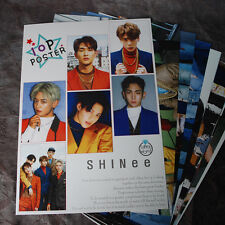 K-POP SHINEE TAEMIN KEY ONEW MINHO 10Posters Collection Bromide 10PCS  A4 SIZE