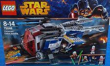 LEGO STAR WARS-75046-CORUSCANT POLICE GUNSHIP-8/14 ANS-SUPERBE NEUF  !!!!