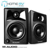 M-AUDIO AV42 - 2 Way Active Powered Studio Monitor Reference Speakers FREE P&P