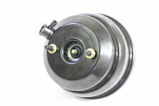 "POWER BRAKE BOOSTER  8"" DUAL DIAPHRAM BLACK POWDER COATED HOT ROD MUSCEL CAR"