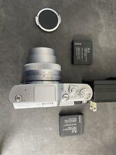 Panasonic Lumix GX850/GF9 (Black/Silver) Mirrorless Camera +12-32mm Lens Used 4K